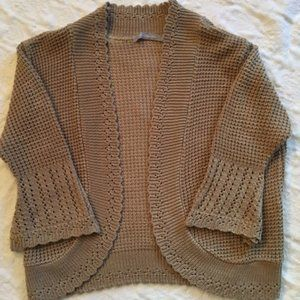 NY Collection Shrug Sweater - Size M